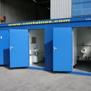 Unisex Toilet and Changing Room suitable for use by Disabled persons.