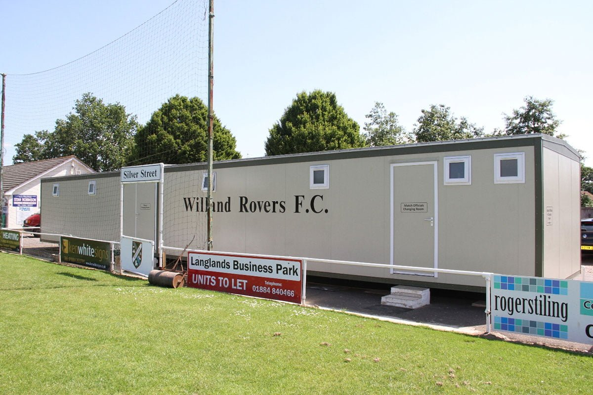 Willand FC Non League Football Changing Rooms