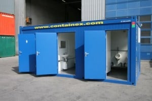 steel portable sports changing room