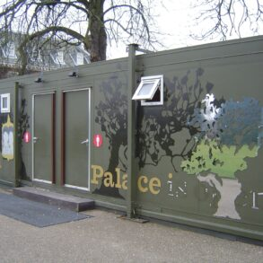 CASE STUDY: Toilet Block custom designed for use at Kensington Palace