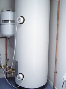 Changing Room Cabin Hot Water Cylinder