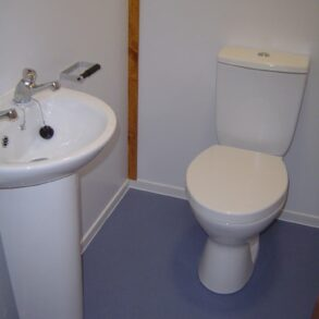 Changing Room Cabin Installation for Torbay Council