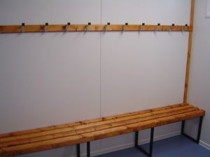 Changing Room Benching