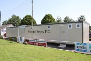 Willand Rovers Football Changing Rooms